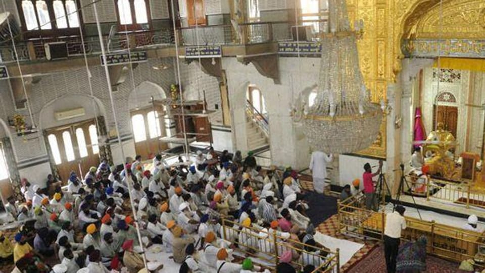 Thousands of devotees from India and abroad have congregated at Takht Sri Harimandir ji Patna Sahib, the birthplace of Guru Gobind Singh,  as well as other Sikh holy places to participate in the celebrations that kicked off on Tuesday.