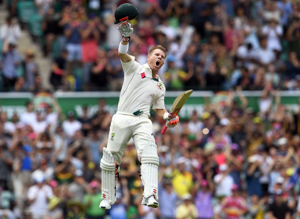 David Warner became only the fifth batsman to score a century before lunch on the first day of a Test during the game against Pakistan in Sydney.