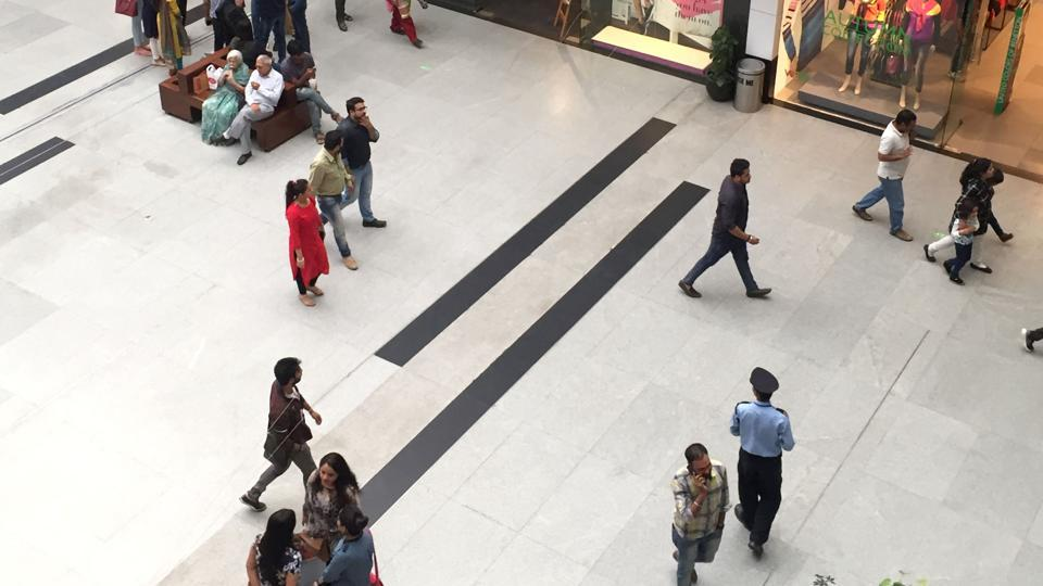 The deceased has been identified as Shubhangi, who had come to the mall along with a male friend. Police said the incident took place around 4 pm when the mall was jam packed with shoppers.