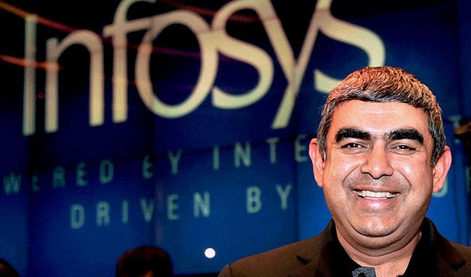 CEO and MD of Infosys Vishal Sikka. (File Photo)