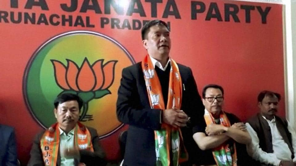 People's Party of Arunachal,North East Democratic Alliance,Neda