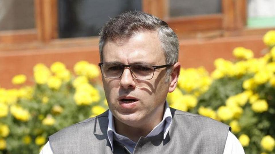 National Conference leader Omar Abdullah.