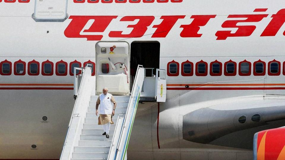 Modi's foreign tour,PM Modi abroad,PM MOdi's air travel