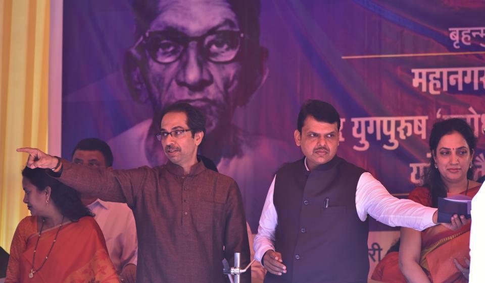 Uddhav Thackeray,Devendra Fadnavis,BMC