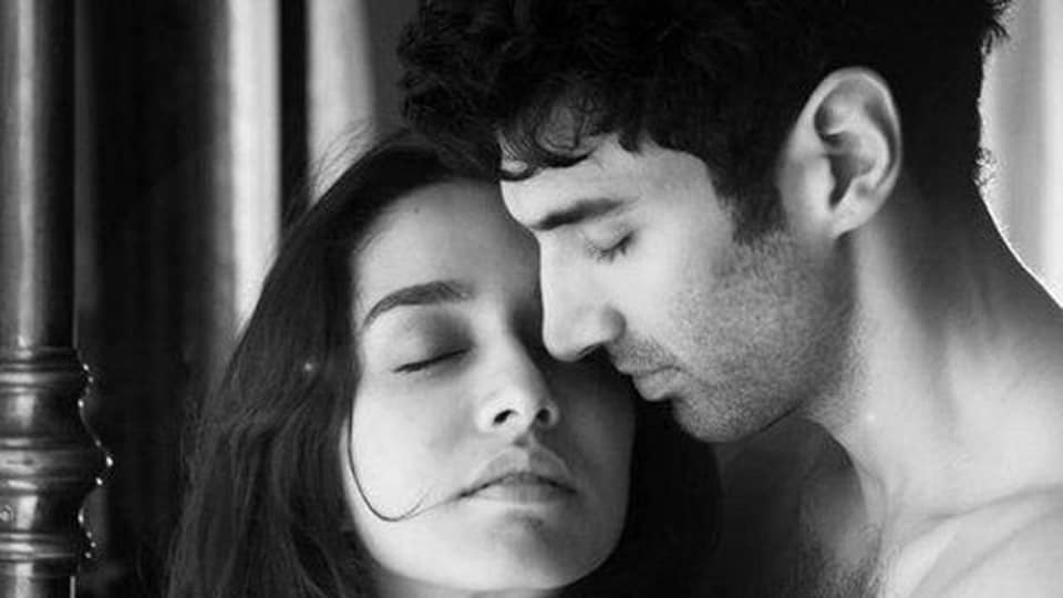 Shraddha Kapoor and Aditya Roy Kapur in a still from Ok Jaanu.