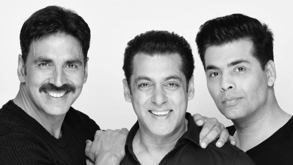Akshay Kumar,Salman Khan,Karan Johar