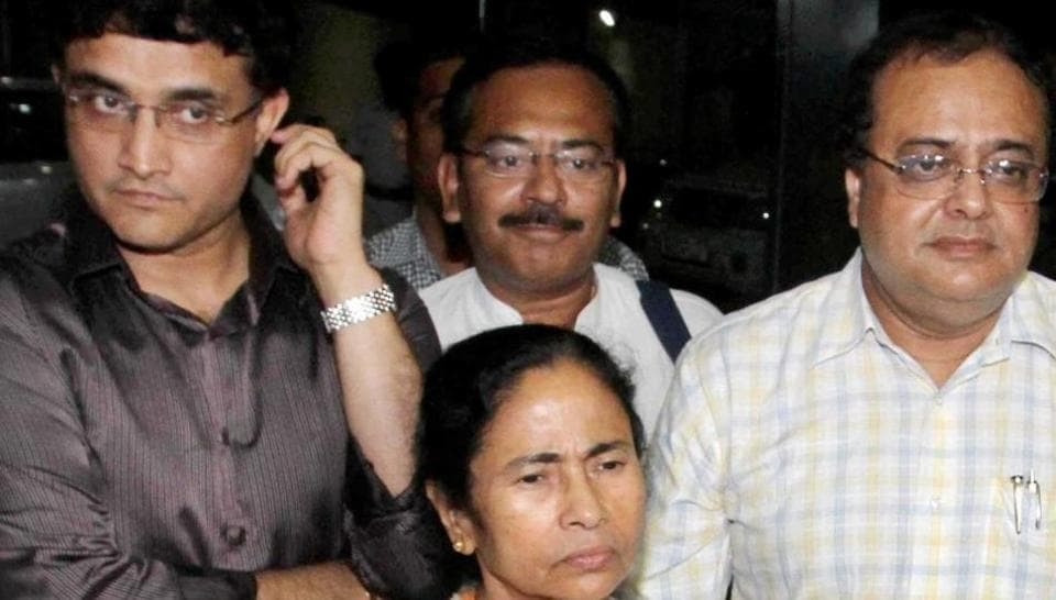 West Bengal chief minister Mamata Banerjee played a key role behind Sourav Ganguly becoming the president of Cricket Association of Bengal after Jagmohan Dalmiya's death