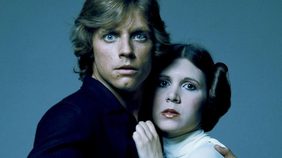 Mark Hamill,Carrie Fisher,Star Wars