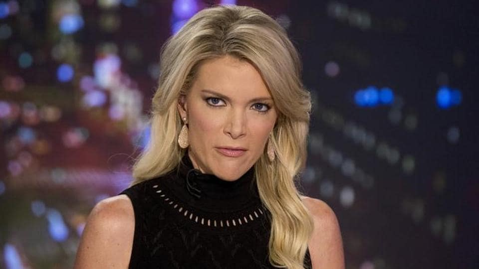 Host Megyn Kelly prepares for her Fox News Channel show 'The Kelly File' in New York.