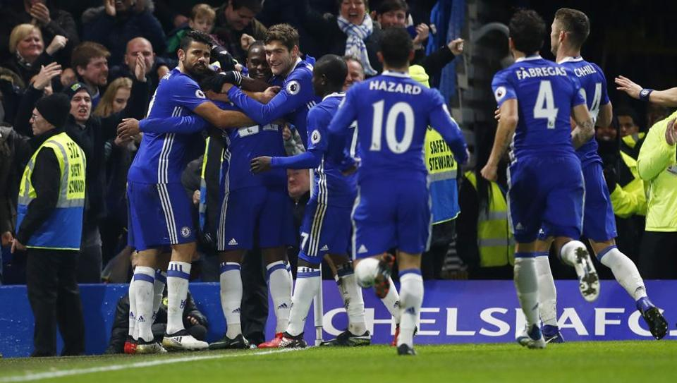 Chelsea FC will face a fierce challenge from fired-up Tottenham Hotspur FCas the Premier League leaders bid to set a new record winning streak.