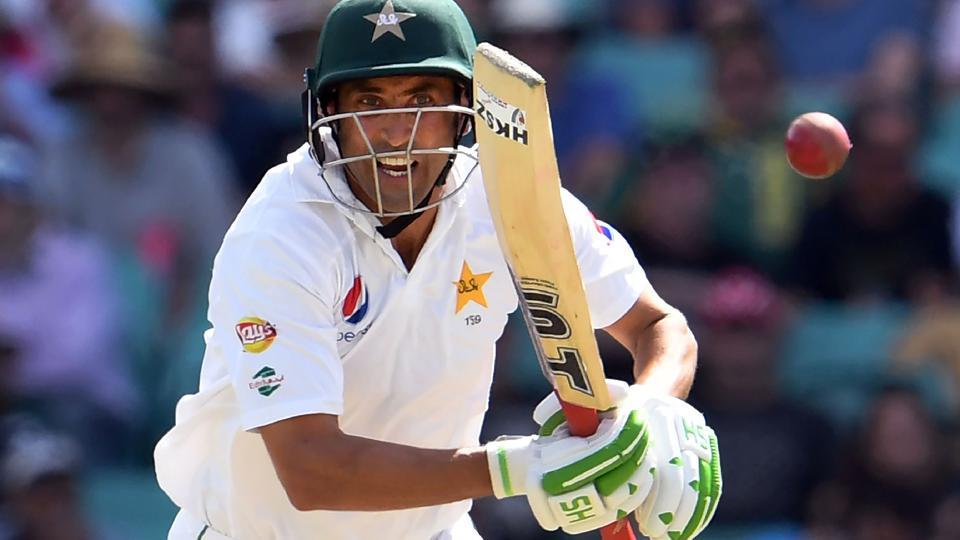 Younis Khan plays a shot against Australia during the second day of the third cricket Test match at the SCG in Sydney on Wednesday. Get live cricket score of AUS vs PAK here