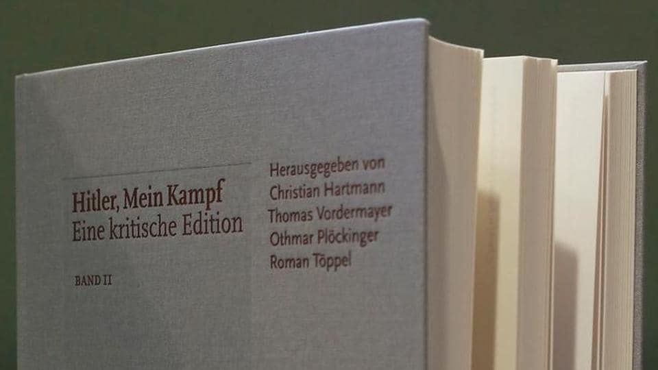 This is the first reprint of Hitler's book since WWII