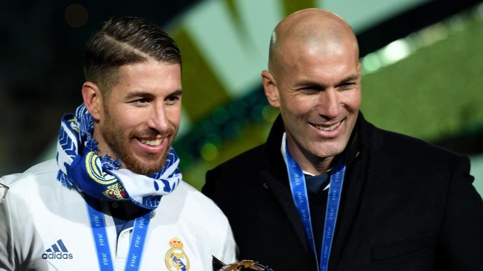 Zinedine Zidane,Real Madrid CF,Sevilla FC