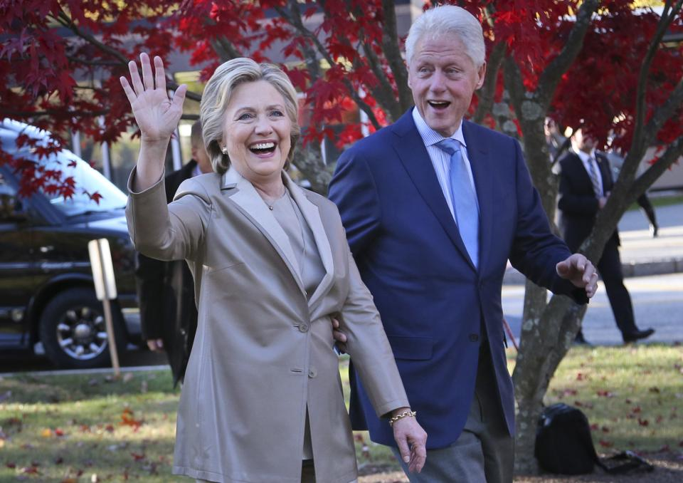 Hillary and Bill Clinton's attendance at Donald Trump's inauguration is likely to be seen as another symbol of a peaceful transition of power after a bitterly contentious race.