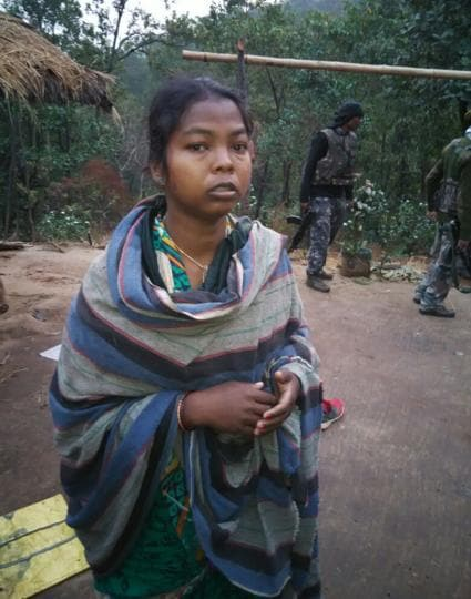 Police arrested Sonali, wife of CPI (Maoist) area commander Supai Tuddu, who was killed in a shootout  between security forces and the rebels at Gurabandha foresti n Jharkhand's  East Singhbhum on Tuesday.