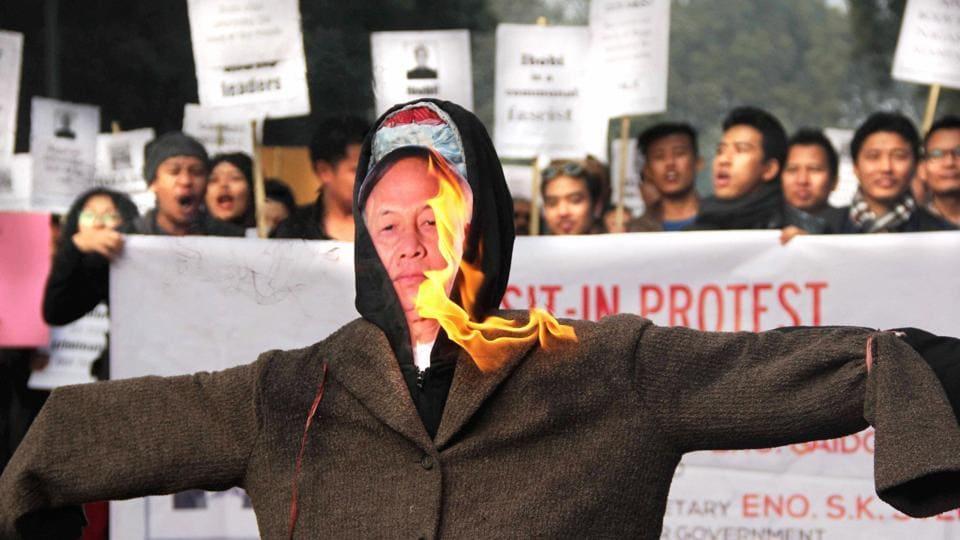 Manipur blockade,United Naga Council,Manipur CM