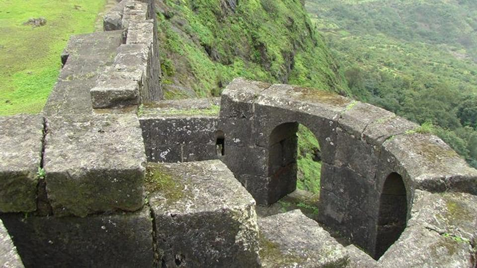 Visapur fort in Lonavala.