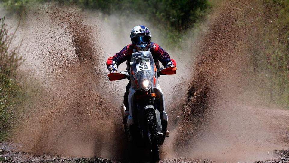 Hero MotoSports Team Rally co-riders CS Santosh and Joaquim Rodrigues had mixed fortunes at the Dakar Rally 2017.