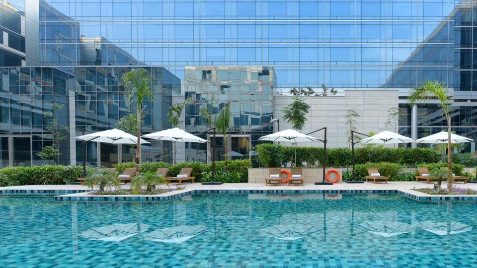 Andaz Delhi, the first Indian Andaz, is the Hyatt Hotels' response to the hip-lifestyle hotel category