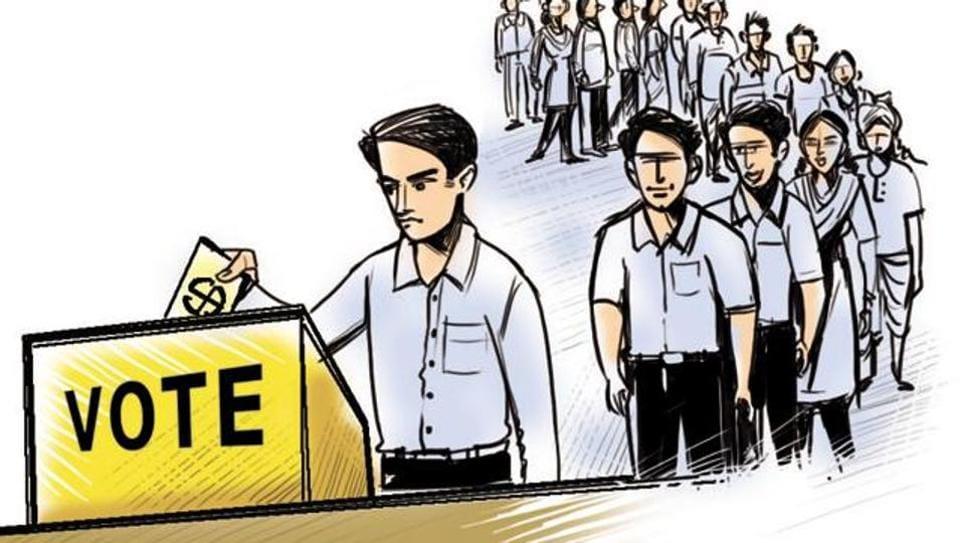 poll duty