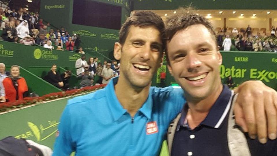 Novak Djokovic,Djokovic selfie,Qatar Open
