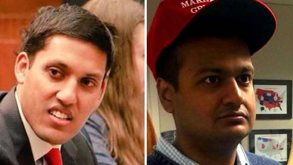 Two Indian Americans in the news of late have only their name – Raj Shah – in common. The Raj Shah on the left is a Democrat, and was recently announced as the head of the Rockefeller Foundation. The man on the right is a Republican, and will be deputy assistant and research director to President-elect Donald Trump.