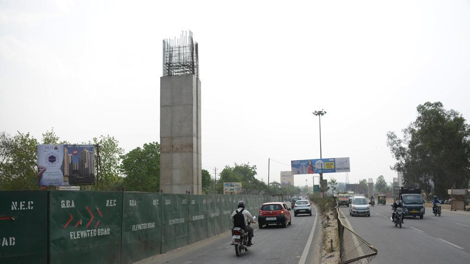 The last plan had proposed development of a 1-km green area under the 10.3-km Hindon elevated road under construction.
