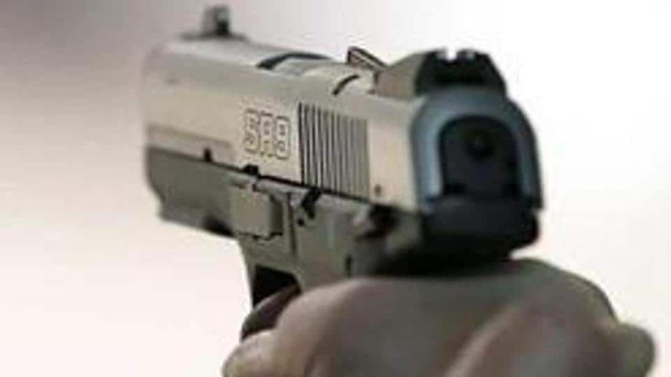 Two people were shot dead in Jabalpur late on Wednesday night.