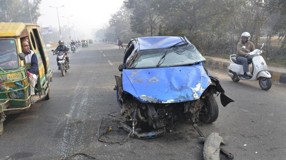 Delhi topped the list of cities with the highest number of road accidents, injuries and fatalities with 7,148 cases in which 7,385 people were injured and 1,316 lost their lives.