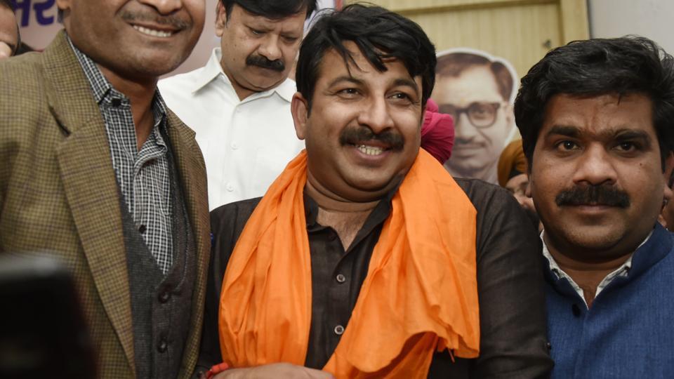 Manoj Tiwari,Arvind Kejriwal,Delhi MCD elections