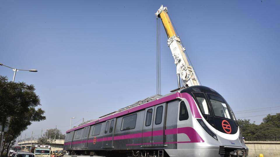 In what could pave the way for the extension of Metro link between Noida Sector 62 and Indirapuram, the National Highways Authority of India (NHAI) officials have said that they have received a proposal from Delhi Metro Rail Corporation (DMRC) that the proposed link may move over the elevated vehicular underpass, near CISF-crossing on NH-24.