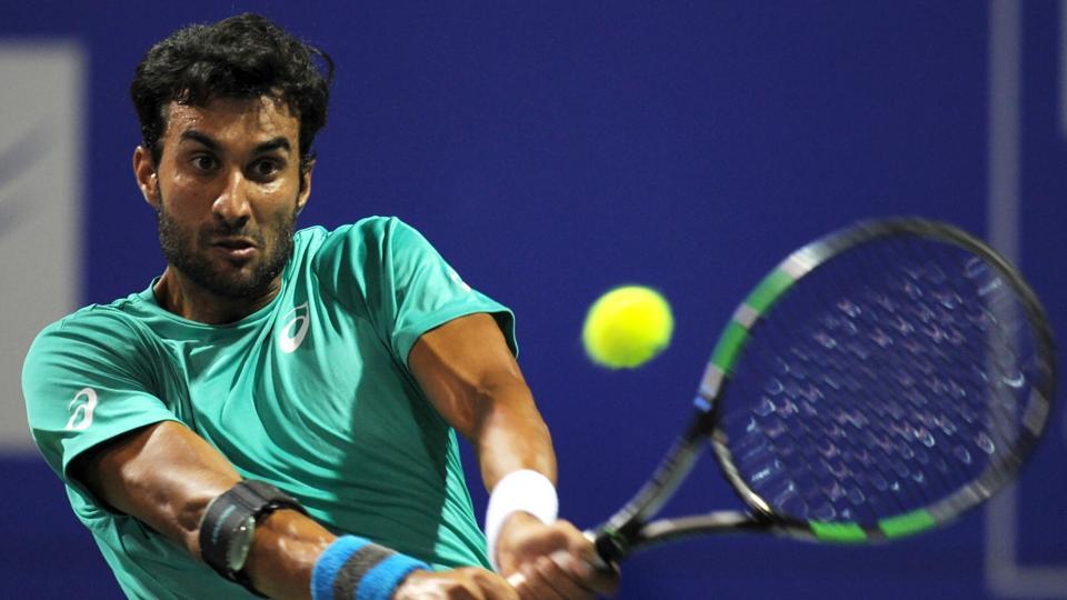 Yuki Bhambri lost to Benoit Paire in the second round men's singles match of the Chennai Open Tennis Championship.