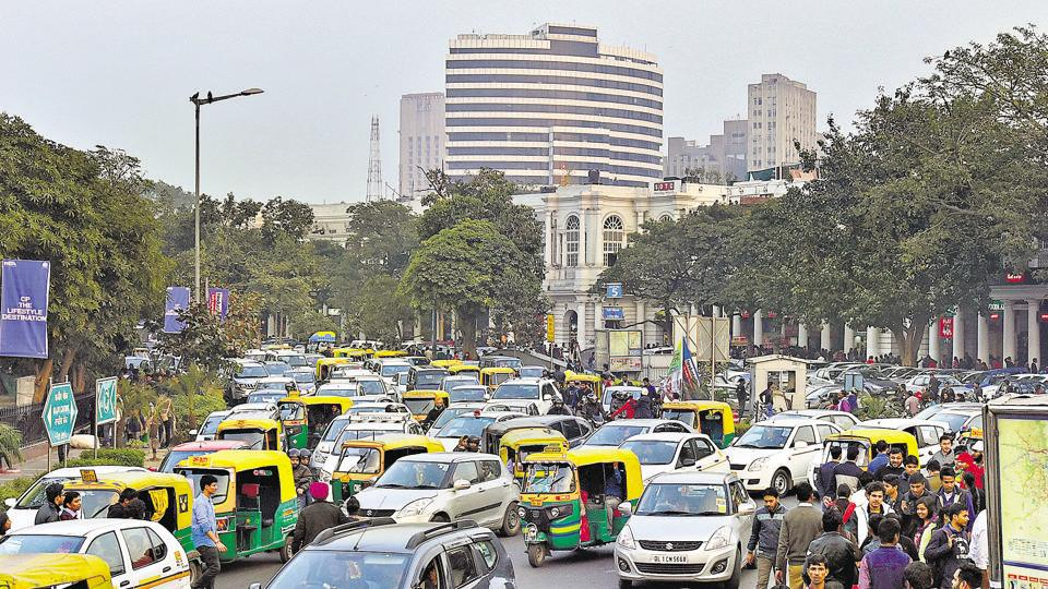 CP,vehicle-free,Connaught Place