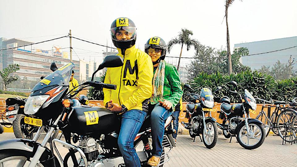 Bike taxies,Public transport,Two-wheeler taxies