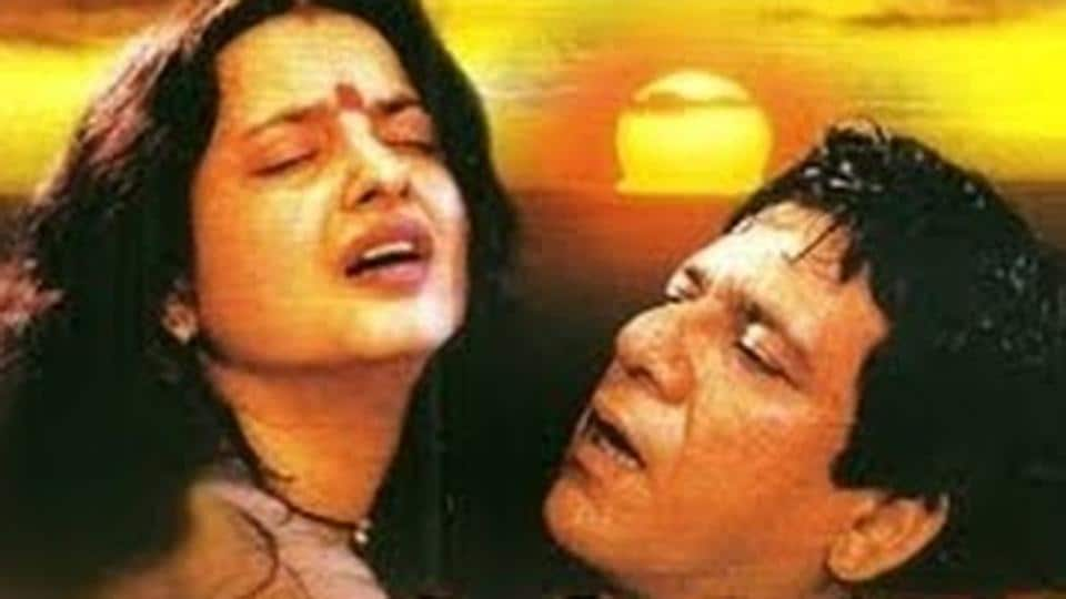 Puri's film Aastha  in 1997 turned out to be a controversial film because of the steamy scenes between him and Rekha.