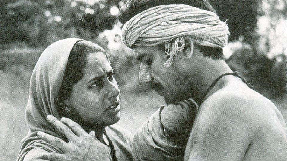 In Satyajit Ray's Sadgati (1981), he plays Dukhi, a poor, outcaste shoemaker struggling with the Brahmins in the village to get his daughter's marriage fixed.