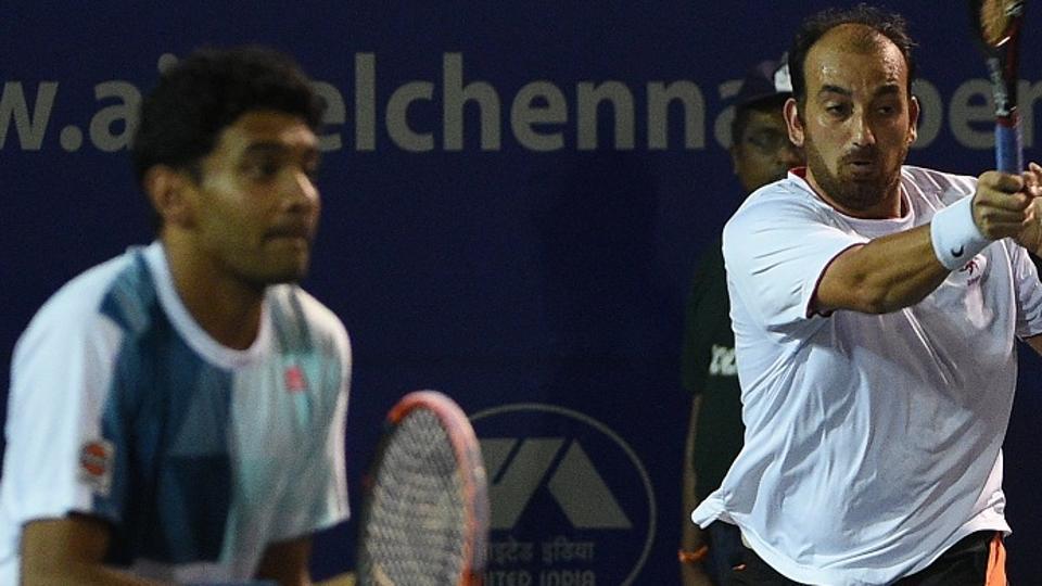 Chennai Open,Divij Sharan,Purav Raja
