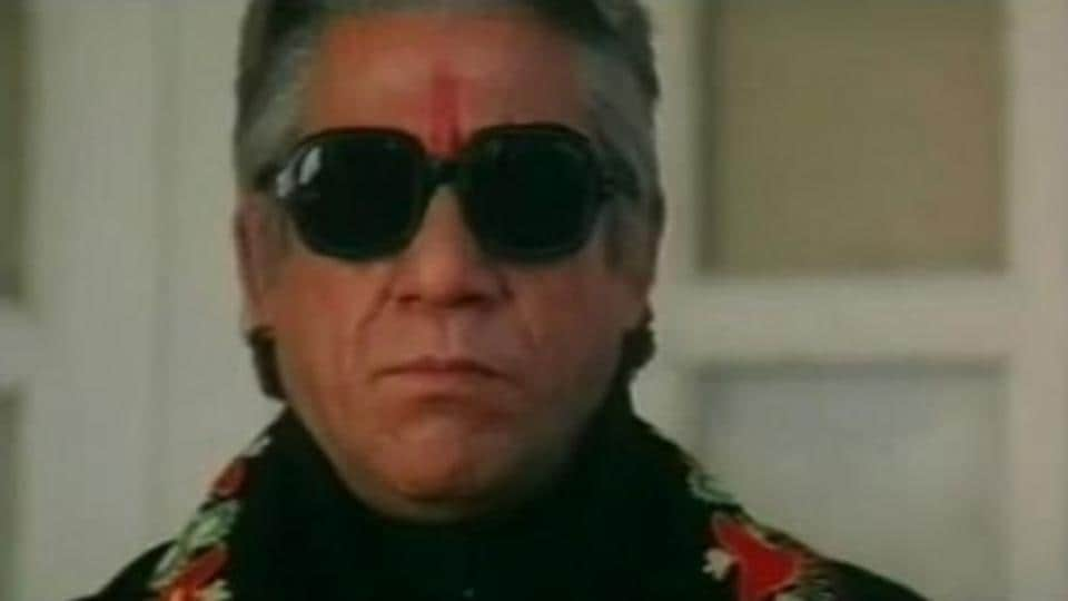 Who can forget him being Baap ji, the menacing, ruthless crime lord, in Narsimha (1991)?