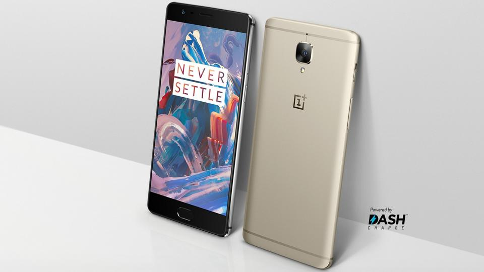 The OnePlus 3T, is getting a fresh coat of gold paint. It will be available in limited supply on January 6 and only in the 64GB version (the 128GB model is still available in the original gray color).