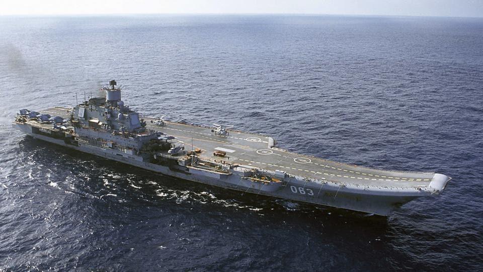 Valery Gerasimov,Admiral Kuznetsov,Syria