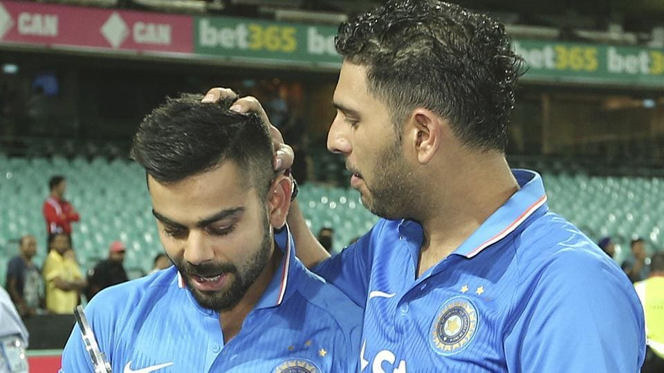 Yuvraj Singh came back into the Indian ODI squad after three years while Virat Kohli officially took over from MS Dhoni as the limited-overs skipper.