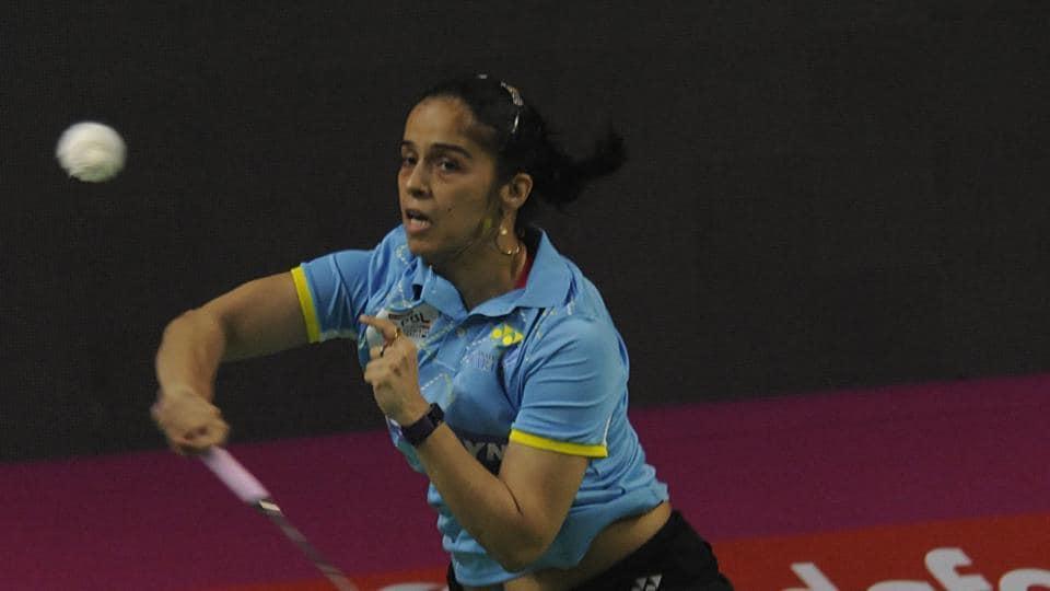 Saina Nehwal put in a stellar show against Ji Hyun Sung in the Premier Badminton League but her team, Awadhe Warriors lost to Mumbai Rockets.