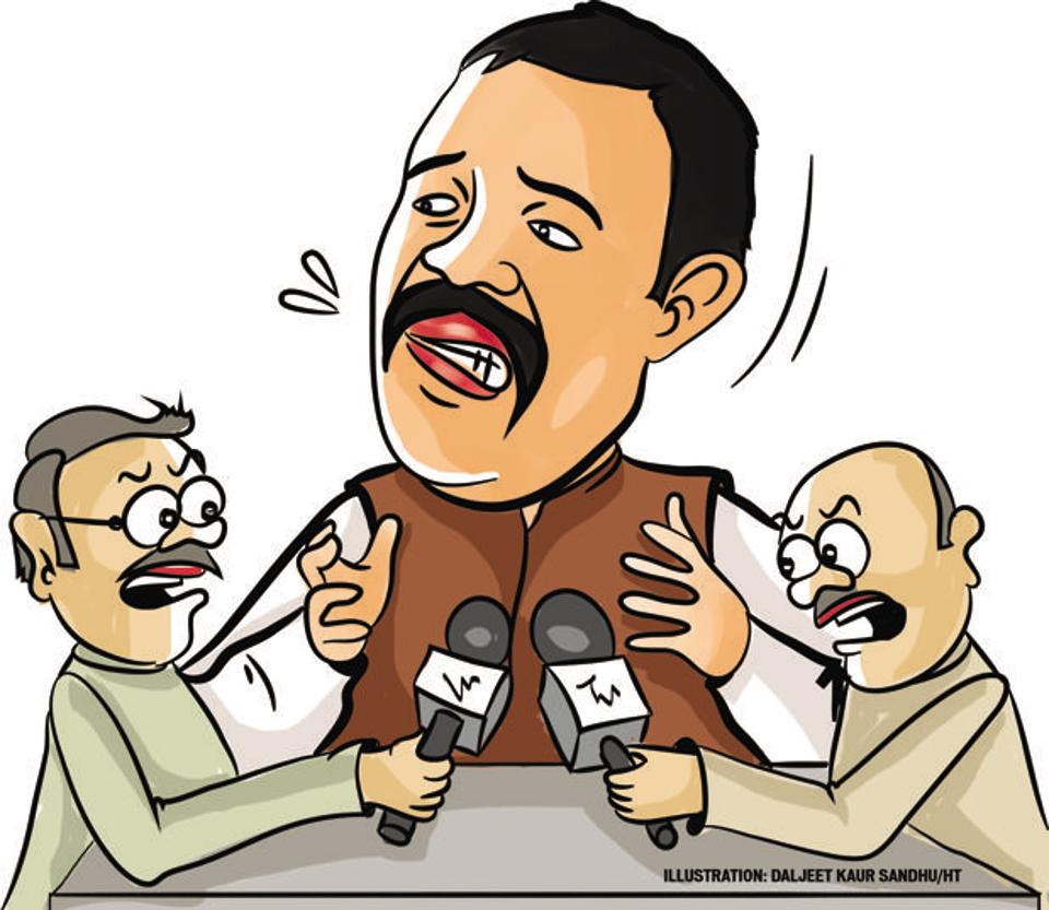 On seeing two journalist having a heated exchange while jostling for space to set up mikes at his press conference in Ludhiana on Thursday, Sampla asked all mediapersons present if the fight would make headlines!