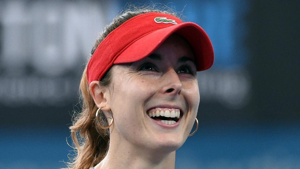 Alize Cornet,Brisbane international tennis,Garbine Muguruza