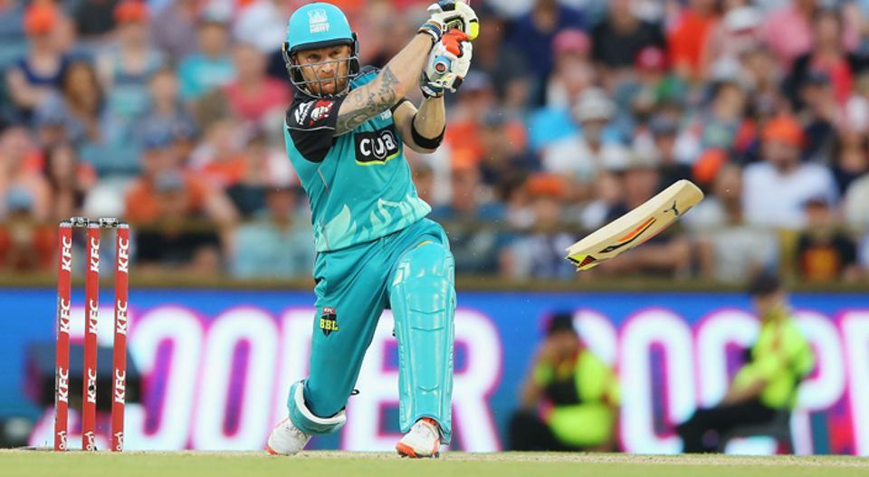 Brendon McCullum, who retired from international cricket in February 2016, has taken the Big Bash League in Australia by storm while playing for the Brisbane Heat franchise