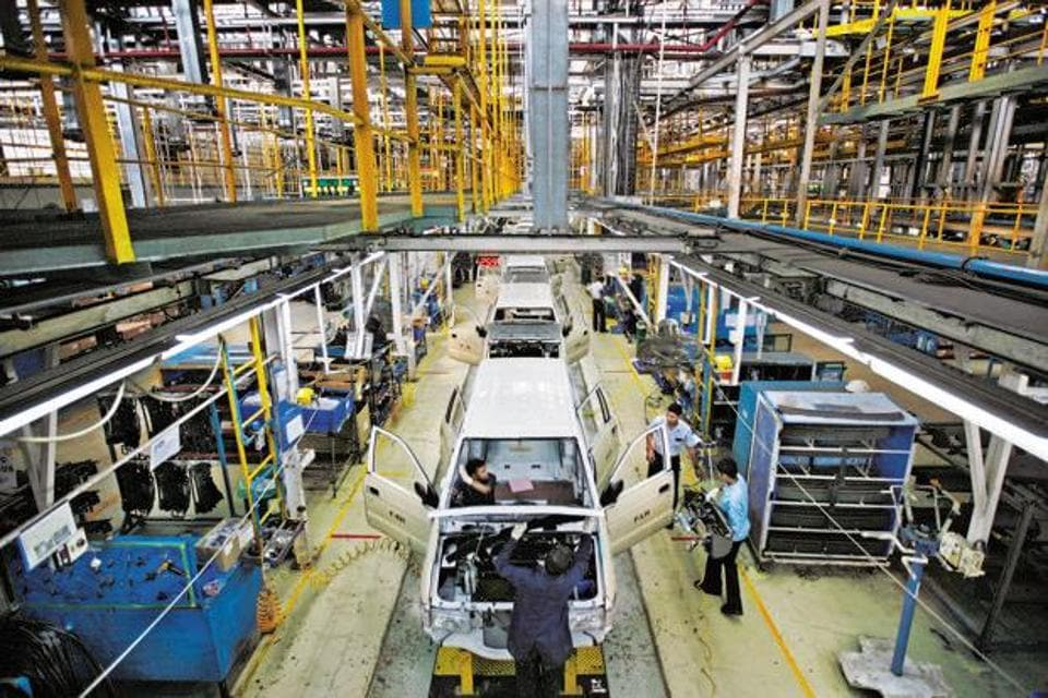 A file photo of General Motors Co.'s manufacturing plant in Halol, Gujarat.