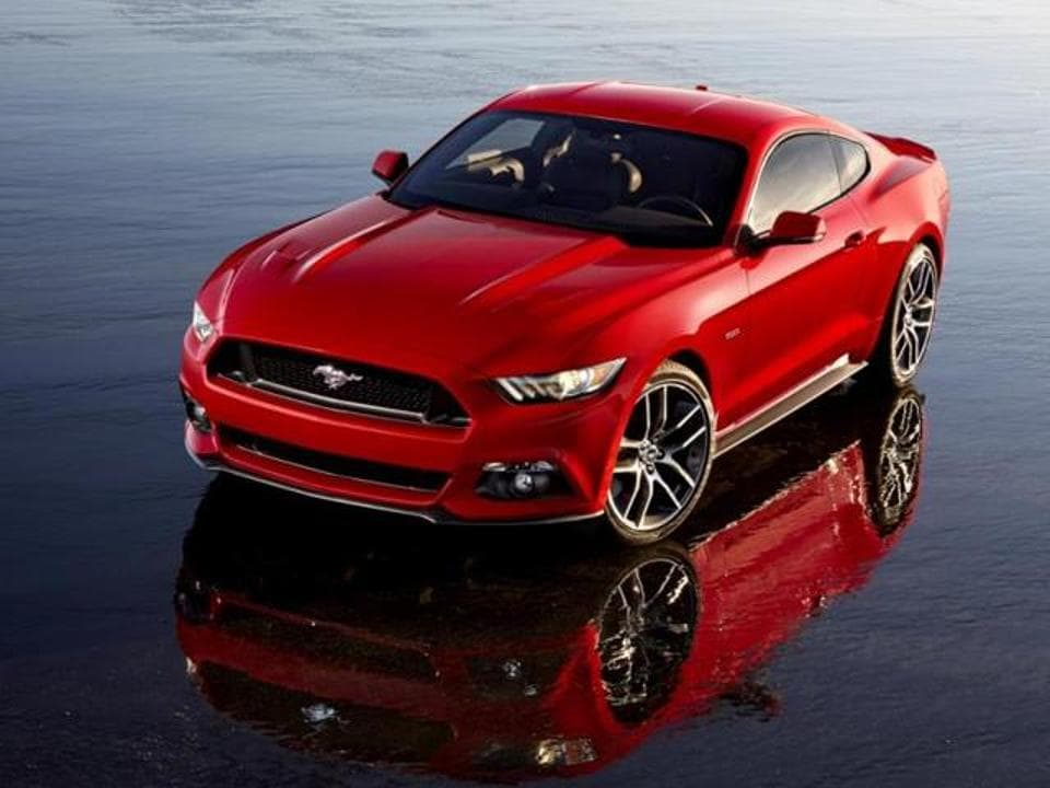 The all new Ford Mustang