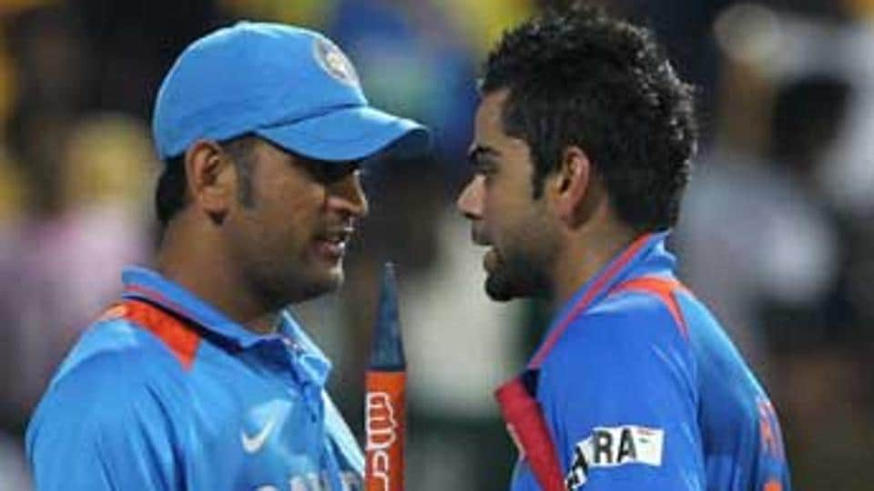 Virat Kohli, who is arguably the best batsman in the world at the moment, played his entire international cricket under Mahendra Singh Dhoni's captaincy since his ODI debut in Sri Lanka in 2008