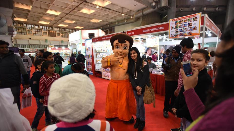 World Book Fair,Delhi,Children's book