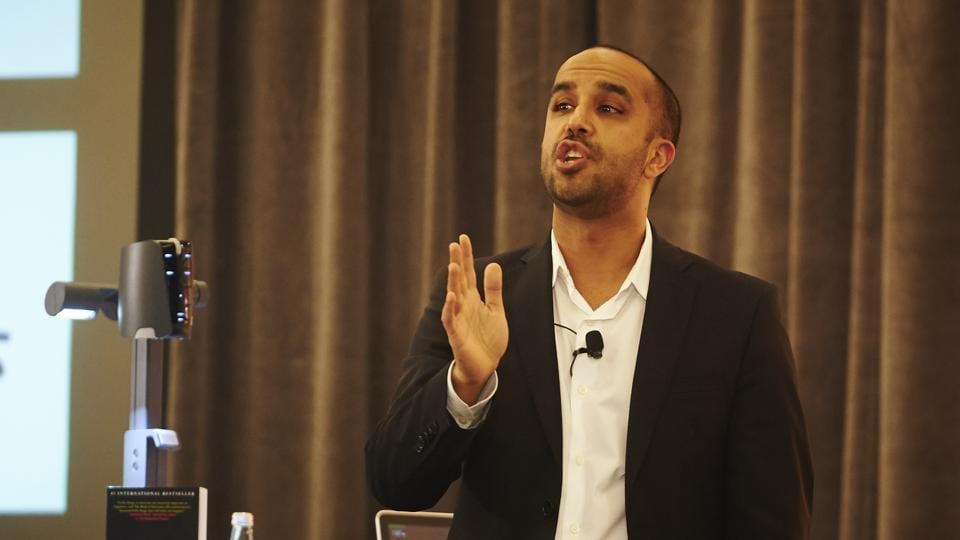 Bestselling author Neil Pasricha, who is also the director of the newly launched Institute for Global Happiness.